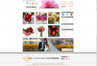 screenshot new site premiumblooms 2012-10