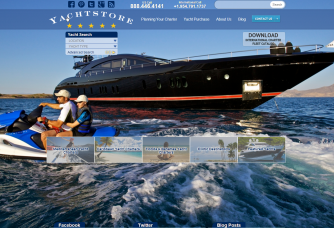 screenshot yachtstore new site 2012