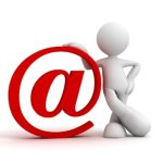 email marketing @ symbol for email